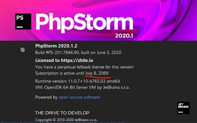 phpstorm2020最新破解方法(2020年7月仍可用)